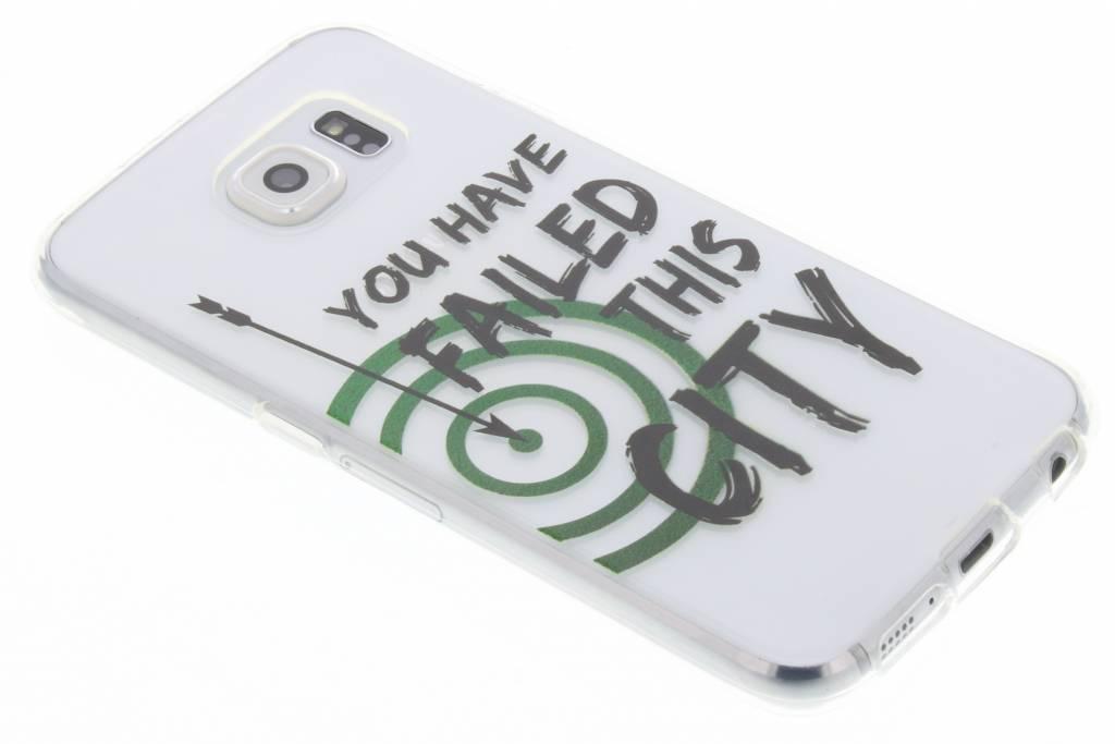 TV Quotes Arrow TPU hoesje voor de Samsung Galaxy S6