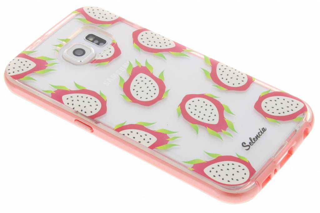 Selencia Foodies Dragon Fruit TPU hoesje voor de Samsung Galaxy S6