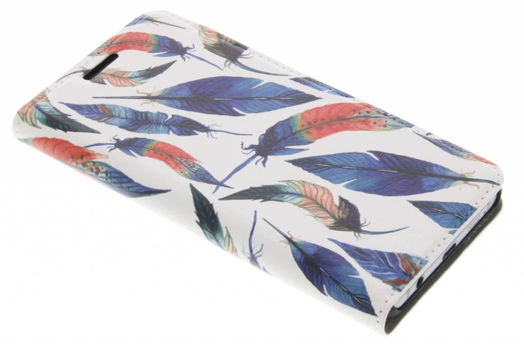 Ibiza Feather Design Booklet voor de Samsung Galaxy A3 (2016)