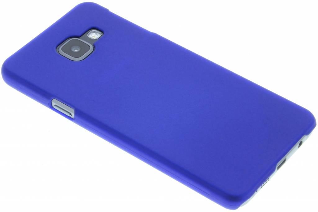 Blauw effen hardcase hoesje voor de Samsung Galaxy A3 (2016)