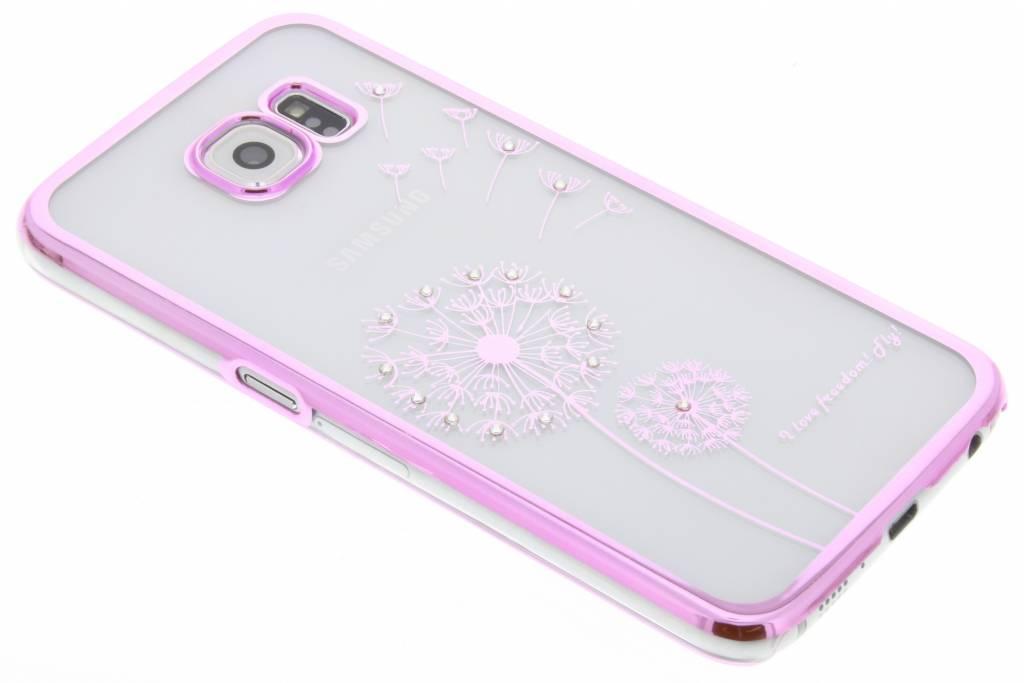 Transparant paardenbloem design hardcase hoesje voor de Samsung Galaxy S6