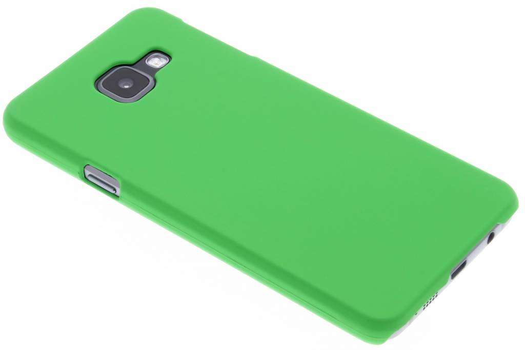 Groen effen hardcase hoesje voor de Samsung Galaxy A3 (2016)