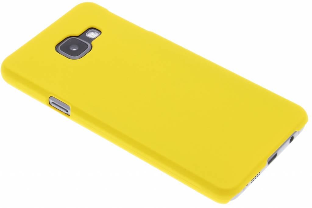 Geel effen hardcase hoesje voor de Samsung Galaxy A3 (2016)