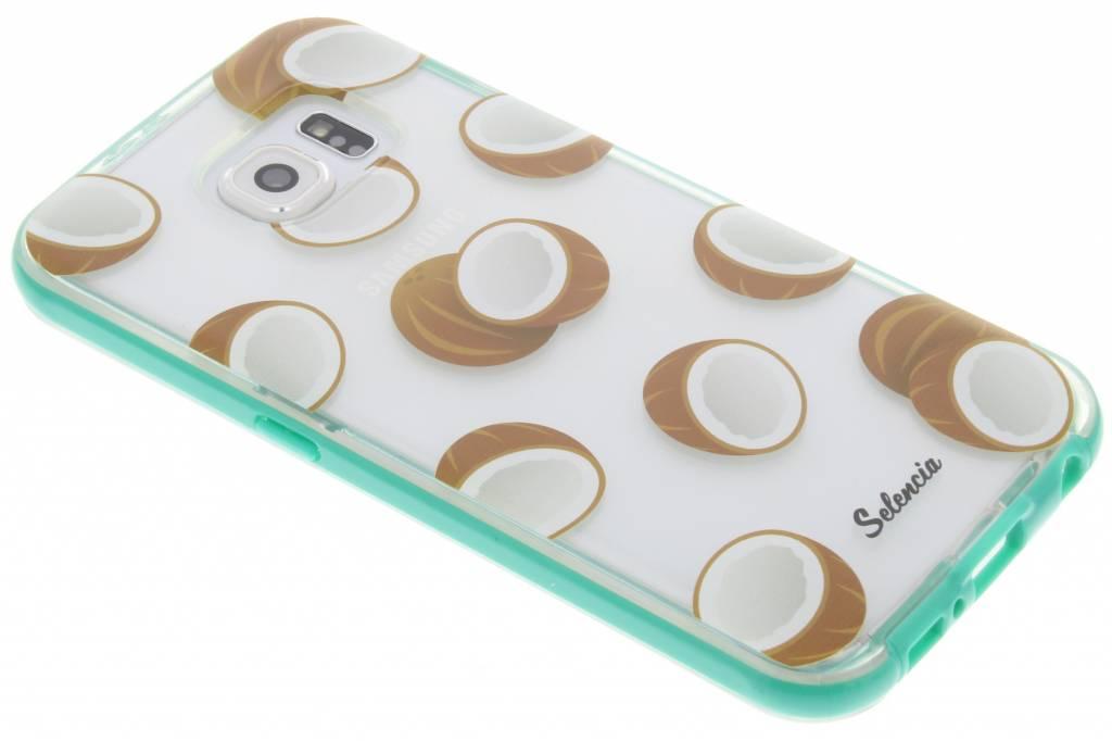Foodies Coconuts TPU hoesje voor de Samsung Galaxy S6