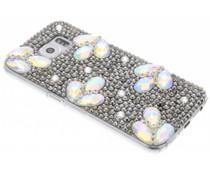 Glazen strass hardcase hoesje Samsung Galaxy S6