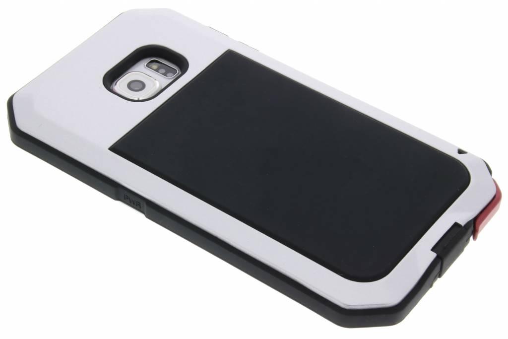 Zilveren Giant Extreme Protect Case voor de Samsung Galaxy S6
