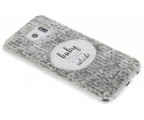 Selencia Quotes TPU hoesje Samsung Galaxy S6