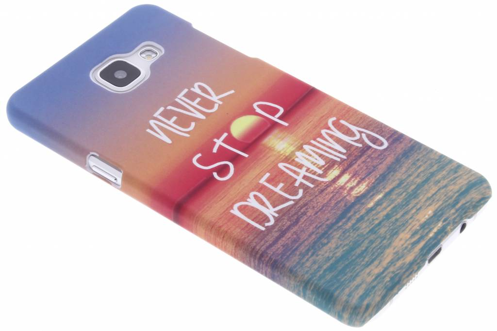 Never stop dreaming design hardcase voor de Samsung Galaxy A5 (2016)