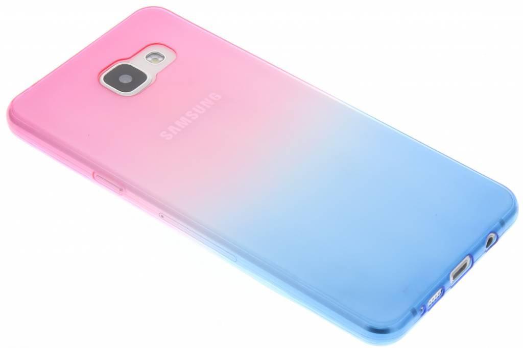 Deux Tons Rose / Bleu Tpu En Silicone Pour Samsung Galaxy A5 (2016) auDRl4