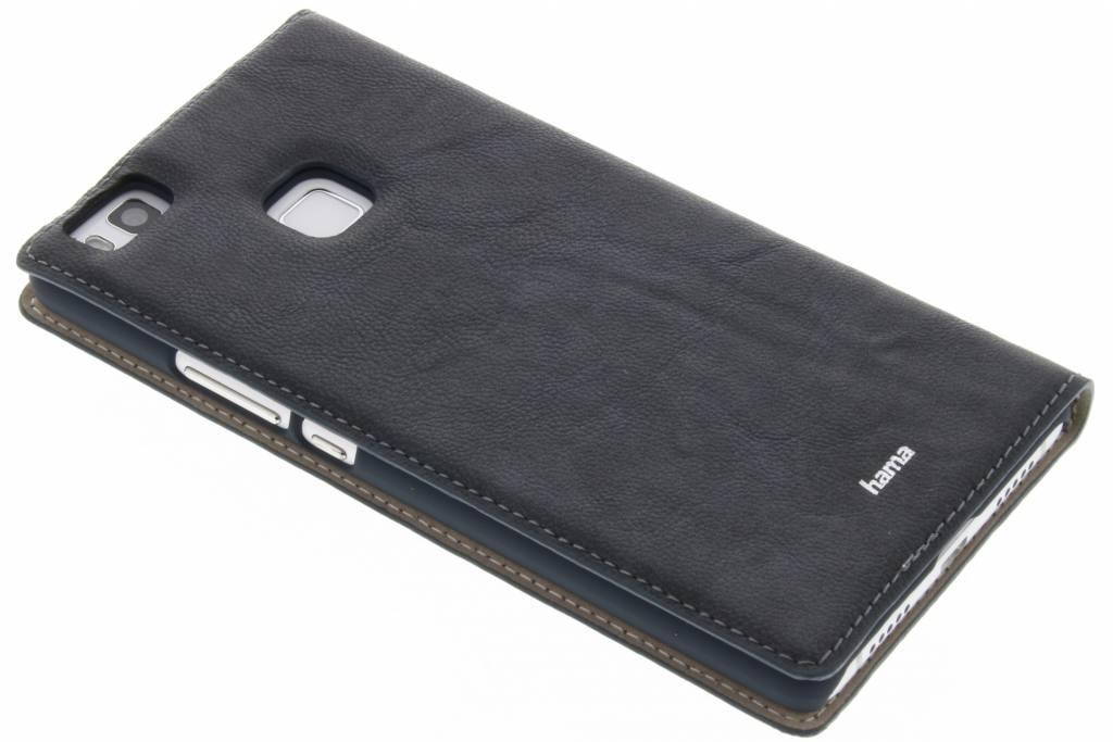 Cas De Livre De Luxe Pour Huawei P9 - Bleu 8j1Jj4
