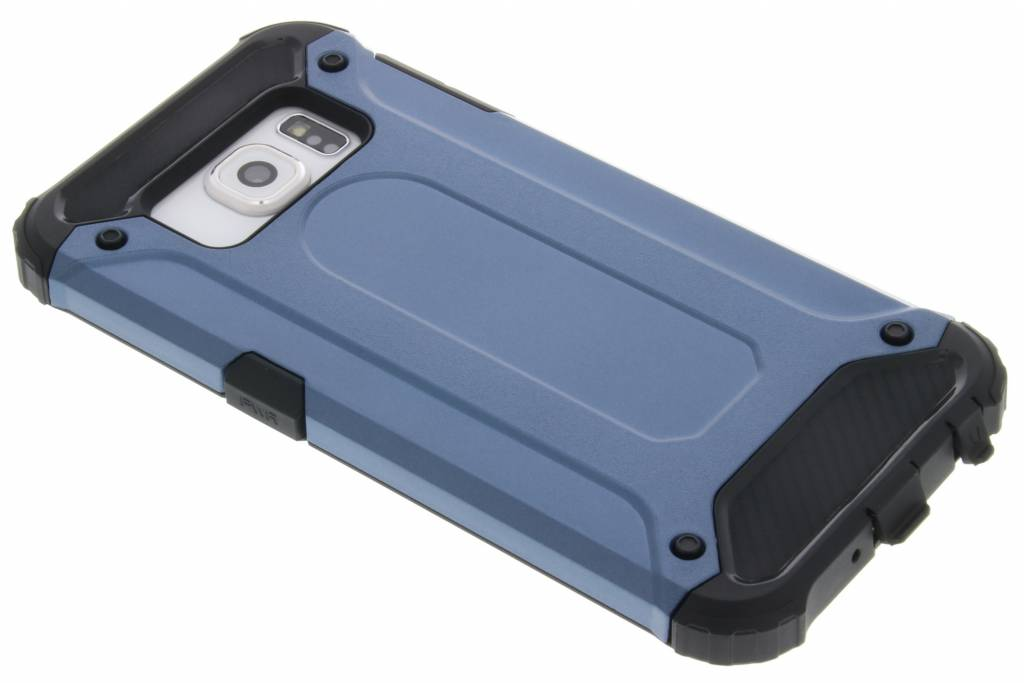 Donkerblauwe rugged Xtreme Case voor de Samsung Galaxy S6