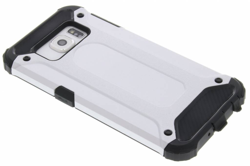 Zilveren rugged Xtreme Case voor de Samsung Galaxy S6