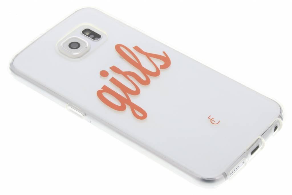 Girls Softcase voor de Samsung Galaxy S6