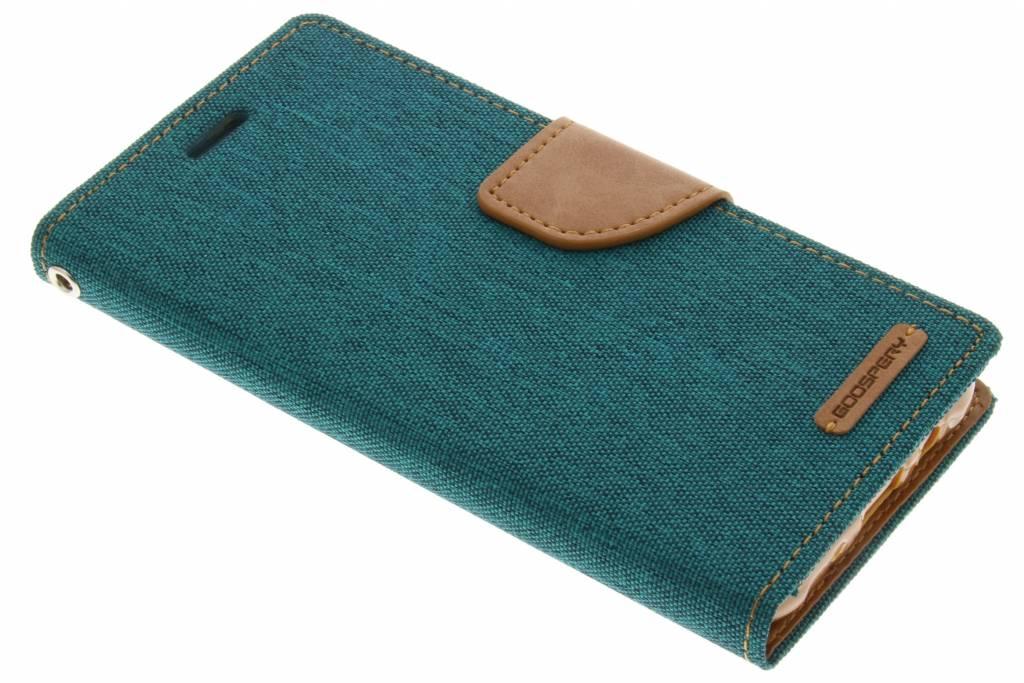 Canvas Diary Case voor de Samsung Galaxy J5 - Groen