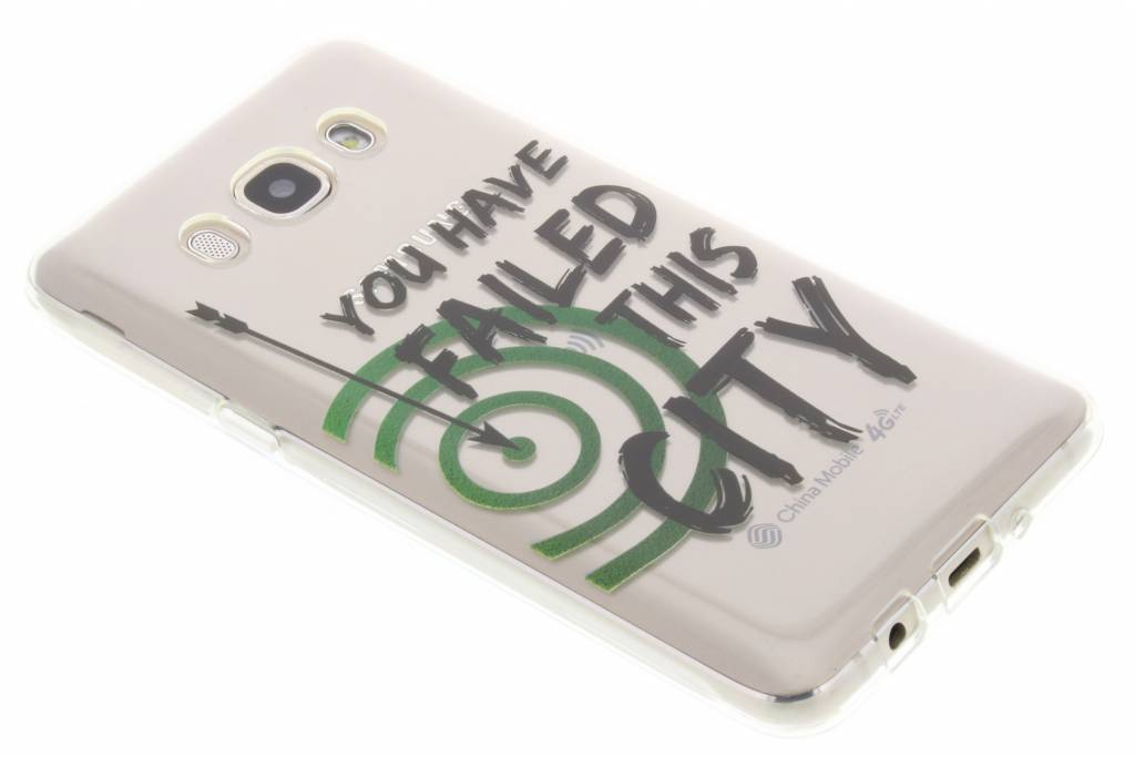 TV Quotes Arrow TPU hoesje voor de Samsung Galaxy J5 (2016)
