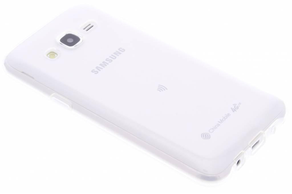 Transparante gel case voor de Samsung Galaxy J5