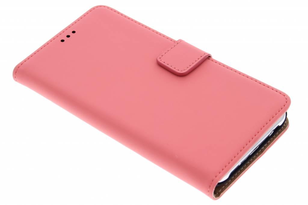 Mobiparts Premium Wallet Case voor de Samsung Galaxy J5 - Peach Pink