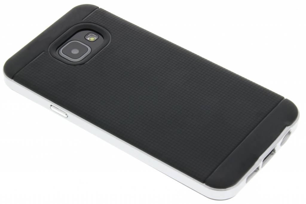 Zilveren TPU Protect case voor de Samsung Galaxy A3 (2016)
