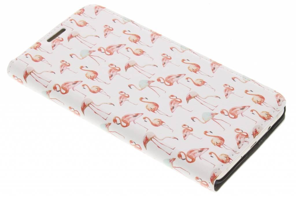 Flamingo Design Booklet voor de Samsung Galaxy J5 (2016)