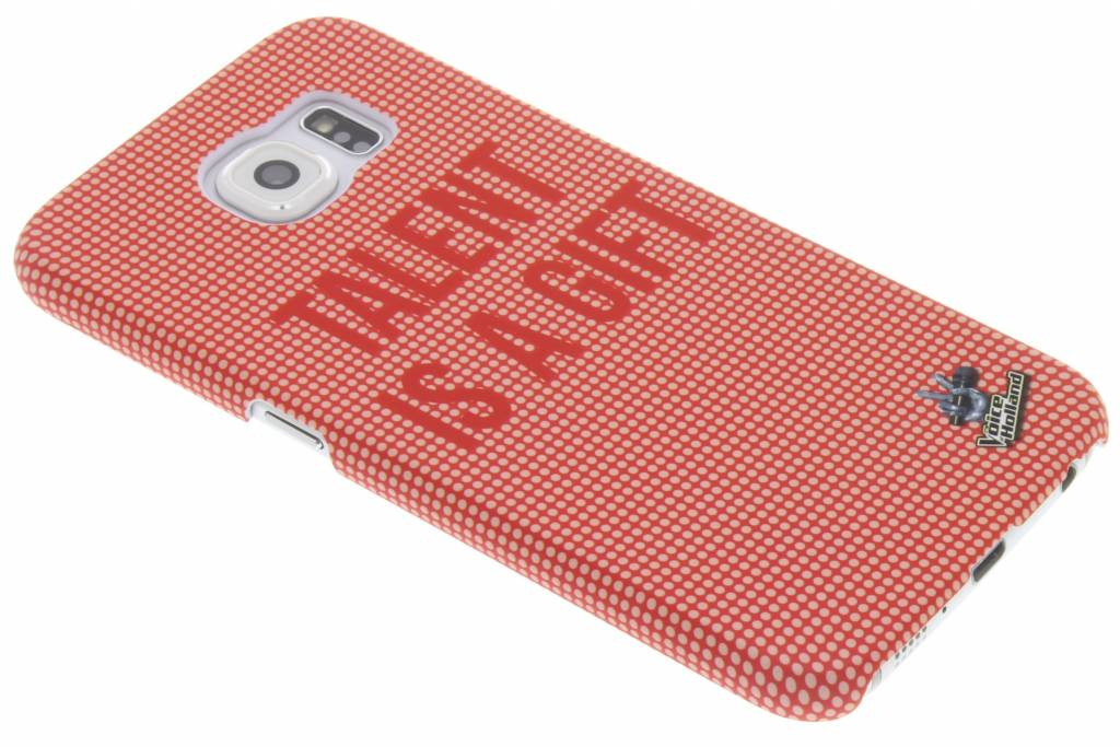 The Voice of Holland Talent is a gift hardcase hoesje voor de Samsung Galaxy S6