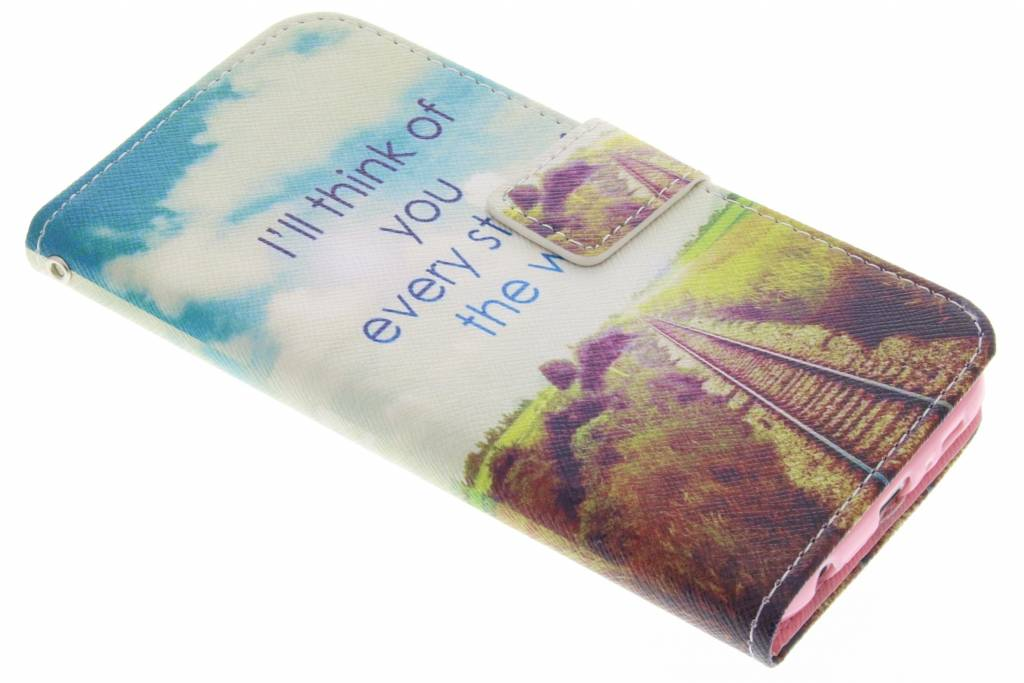 Think of you design TPU booktype hoes voor de Samsung Galaxy S6