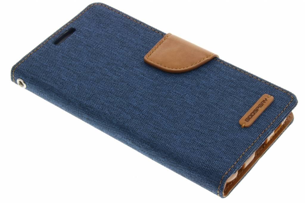 Canvas Diary Case voor de Samsung Galaxy S6 - Blauw