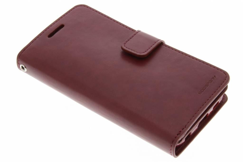 Mercury Goospery Mansoor Wallet Diary Case voor de Samsung Galaxy S6 - Kastanjebruin