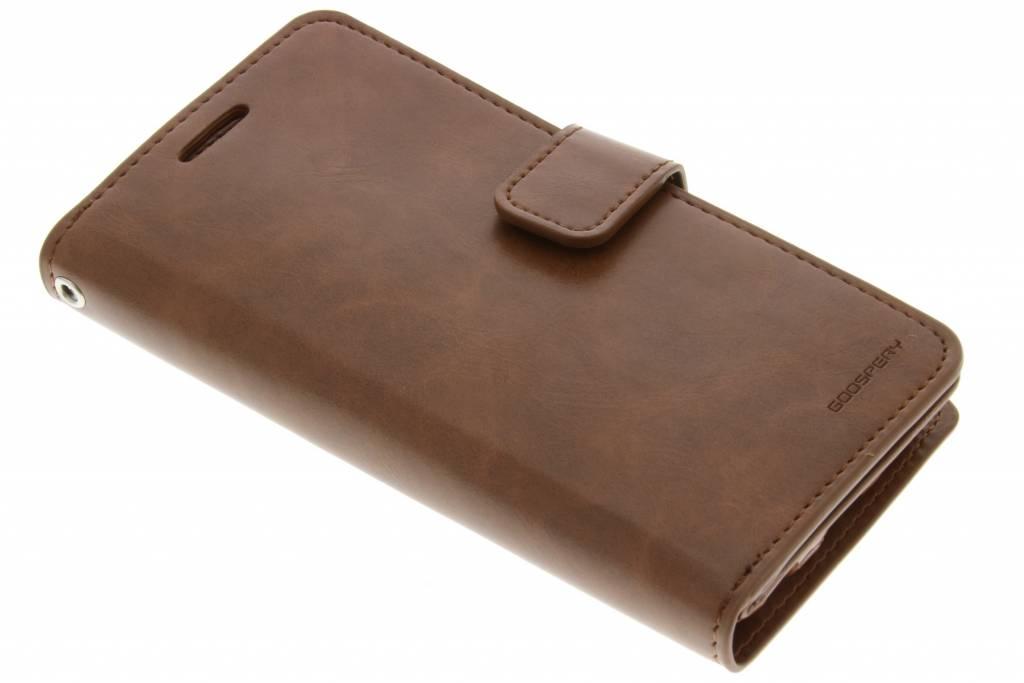 Mansoor Wallet Diary Case voor de Samsung Galaxy S6 - Bruin
