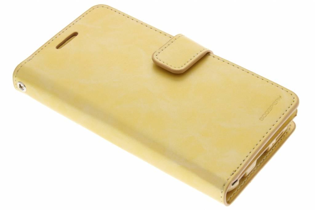 Mansoor Wallet Diary Case voor de Samsung Galaxy S6 - Goud