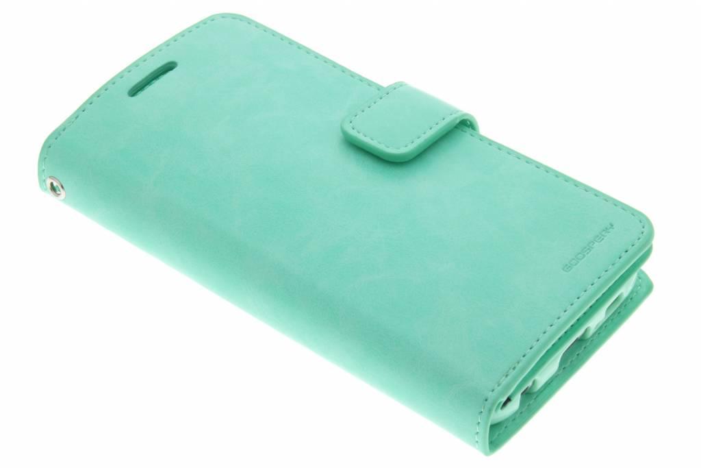 Mansoor Wallet Diary Case voor de Samsung Galaxy S6 - Groen