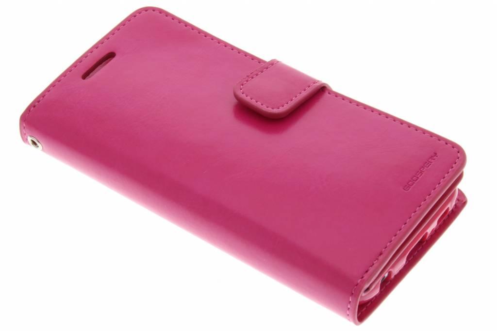 Mansoor Wallet Diary Case voor de Samsung Galaxy S6 - Fuchsia