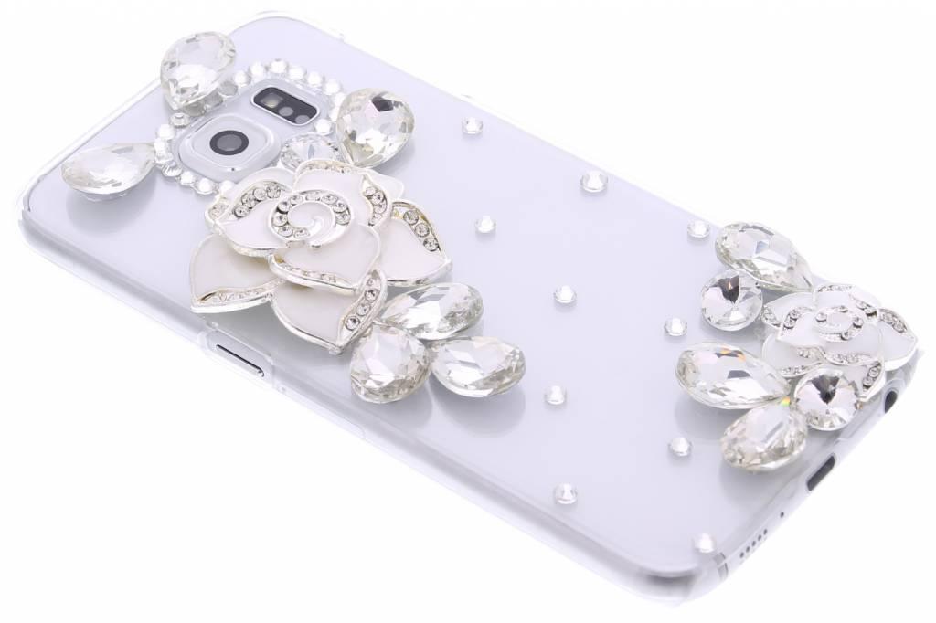 Transparante strass hardcase voor de Samsung Galaxy S6