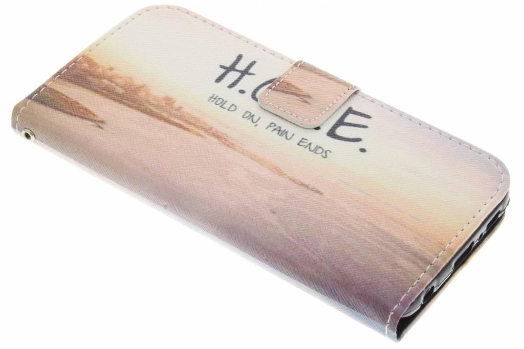 Hope design TPU booktype hoes voor de Samsung Galaxy S6