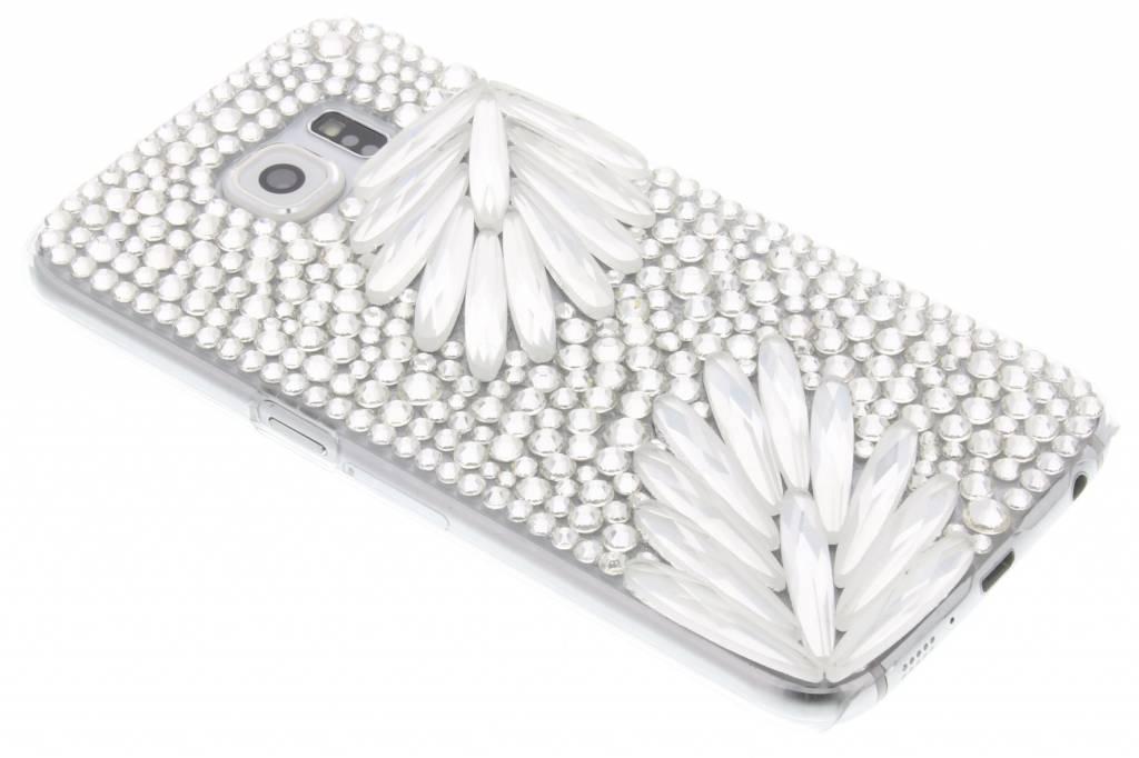 Glazen strass hardcase hoesje voor de Samsung Galaxy S6