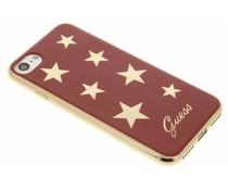 Guess Stars Soft TPU Case iPhone 8 / 7 - Rood