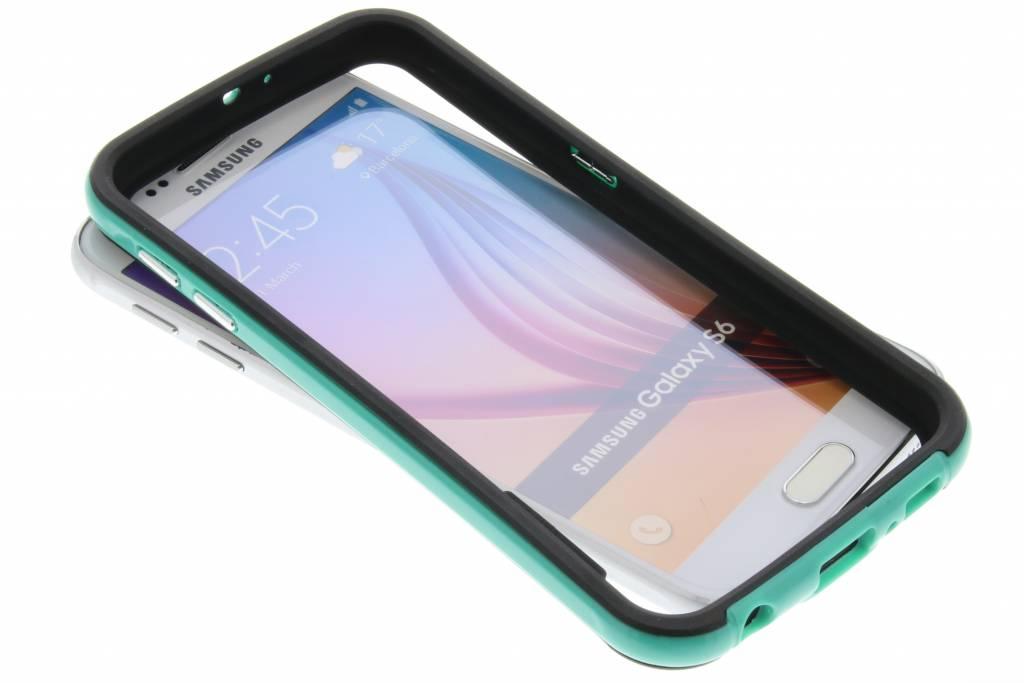 Groene bumper voor de Samsung Galaxy S6