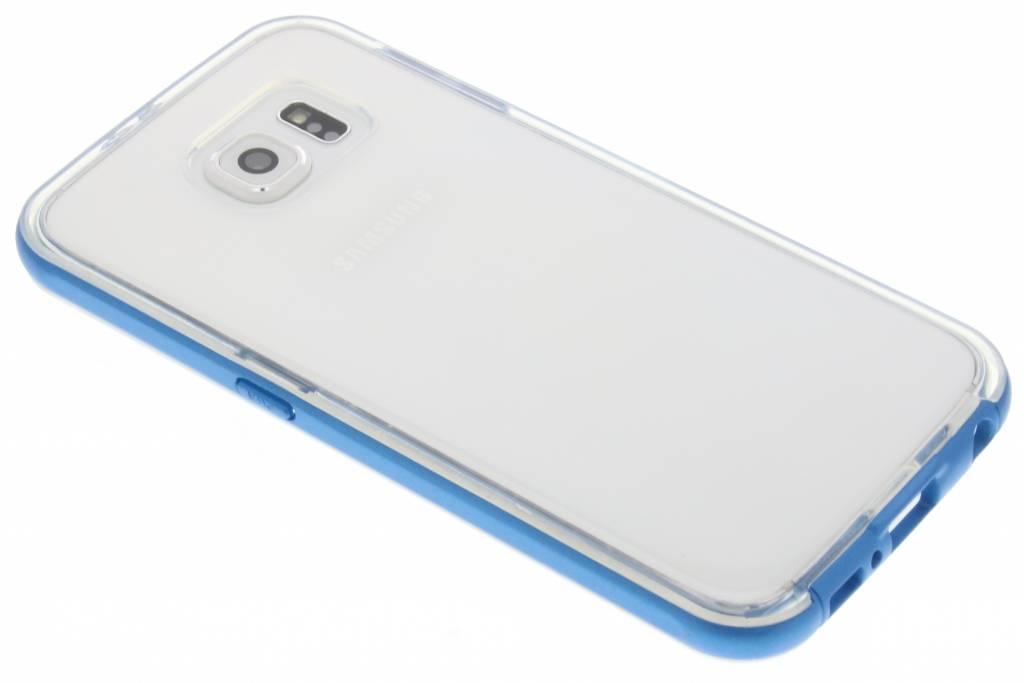 Blauwe bumper TPU case voor de Samsung Galaxy S6