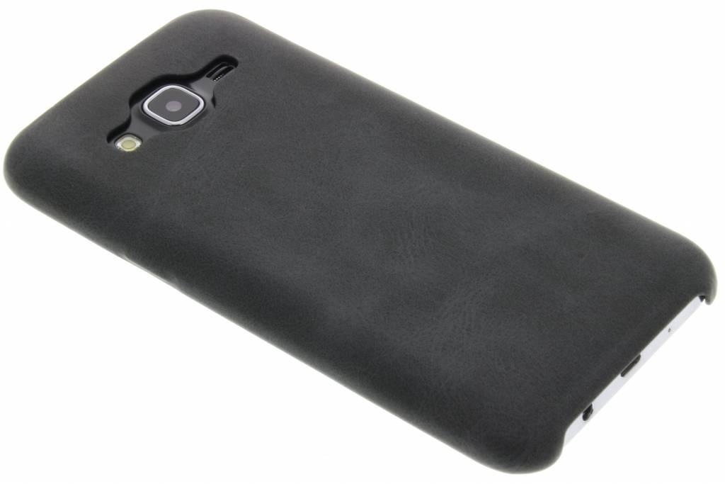 Grijze TPU Leather Case voor de Samsung Galaxy J5