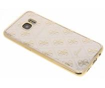 Guess Scarlett TPU Case Samsung Galaxy S7 Edge - Goud