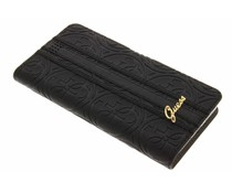Guess Universele Heritage Booktype Case Maat XL - Black