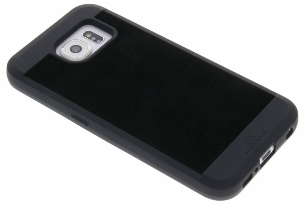Black Rock Zwarte Suede Case voor de Samsung Galaxy S6