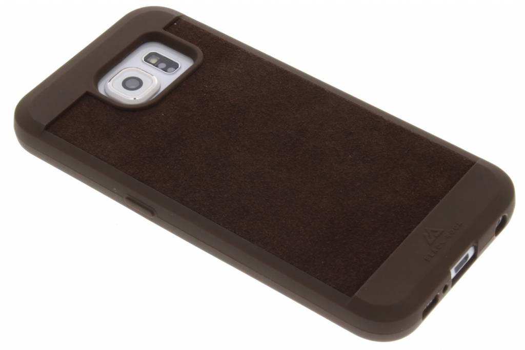 Black Rock Bruine Suede Case voor de Samsung Galaxy S6