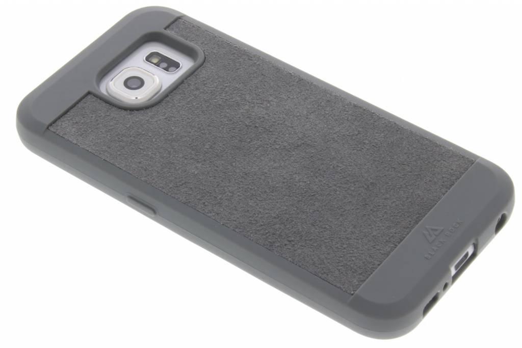 Black Rock Grijze Suede Case voor de Samsung Galaxy S6