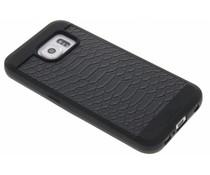 Black Rock Snake Case Samsung Galaxy S6 - Zwart