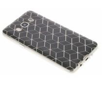 Cubes design TPU hoesje Samsung Galaxy J5 (2016)