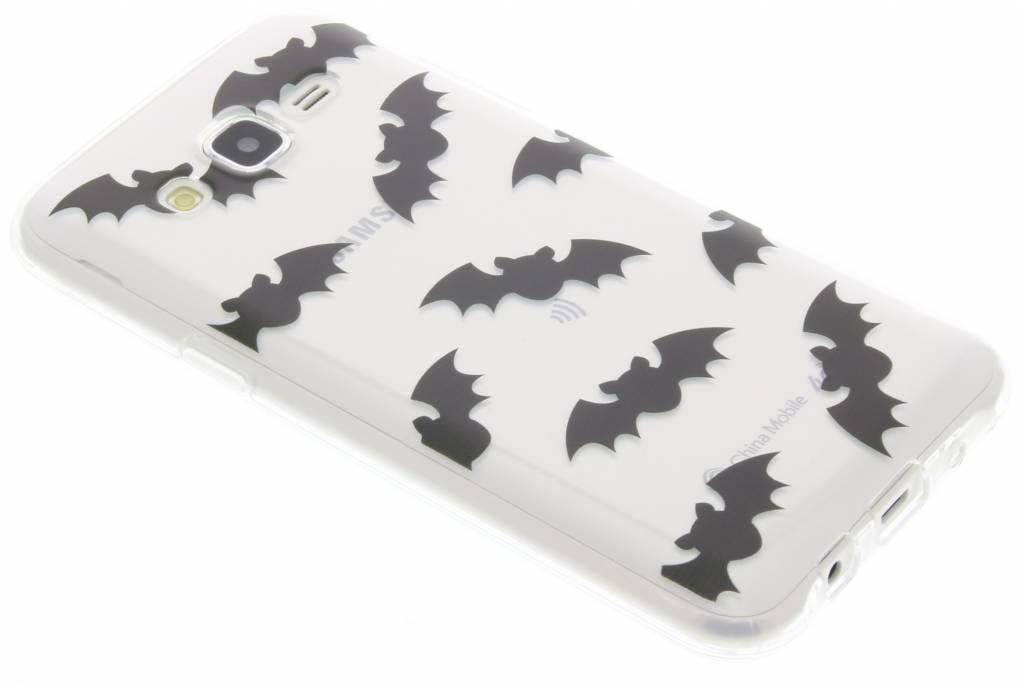 Halloween design vleermuizen TPU hoesje voor de Samsung Galaxy J5