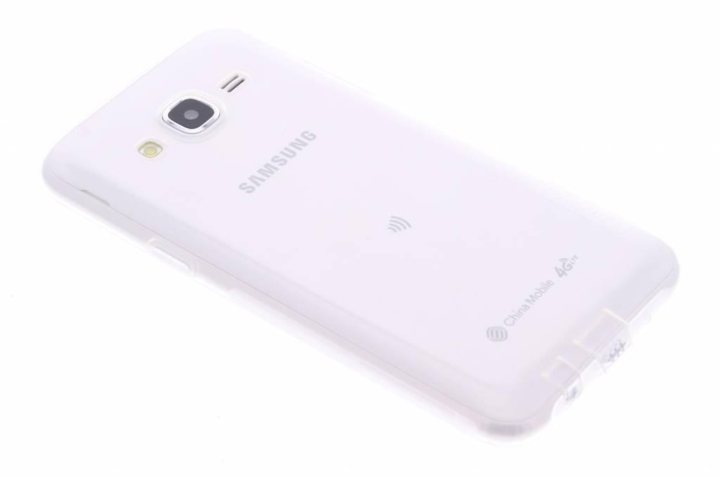 Nature TPU case voor de Samsung Galaxy J5 - Transparant