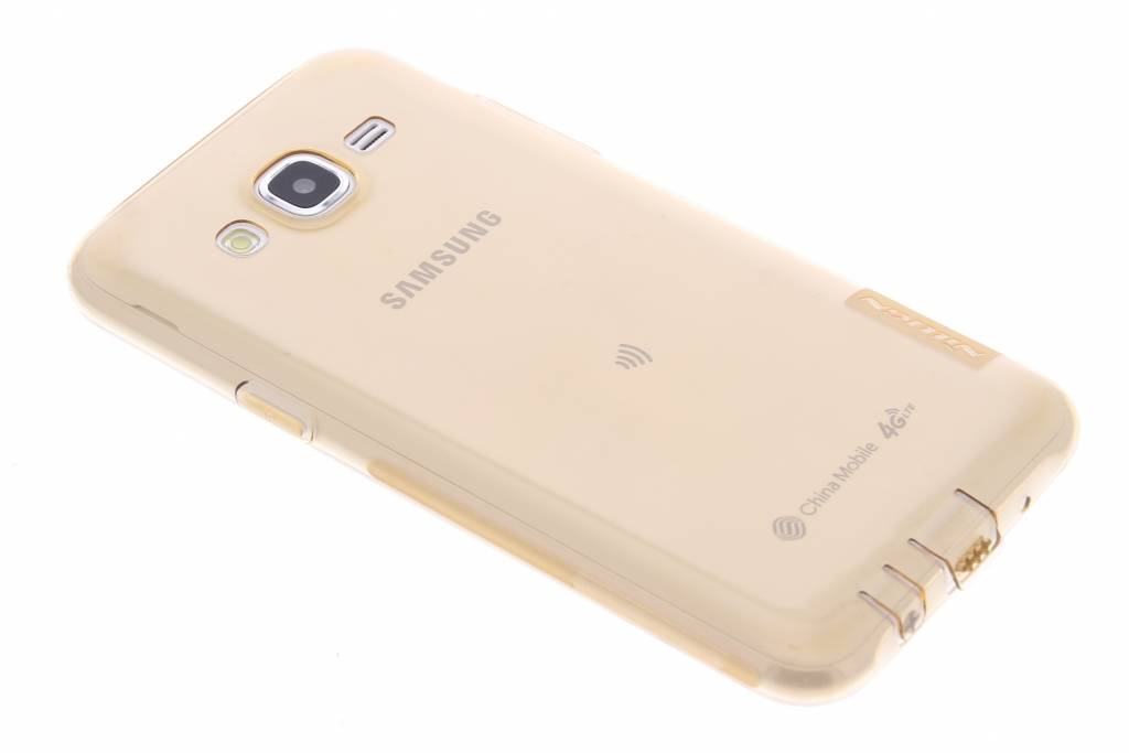Nillkin Nature TPU case voor de Samsung Galaxy J5 - Oranje