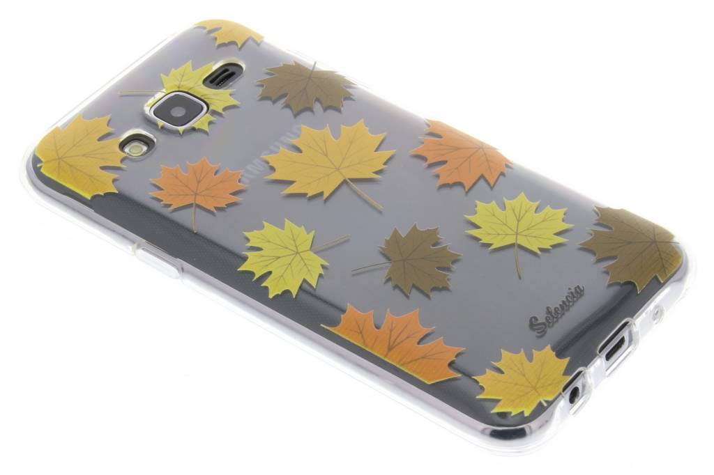 By Night Bladeren TPU hoesje voor de Samsung Galaxy J5