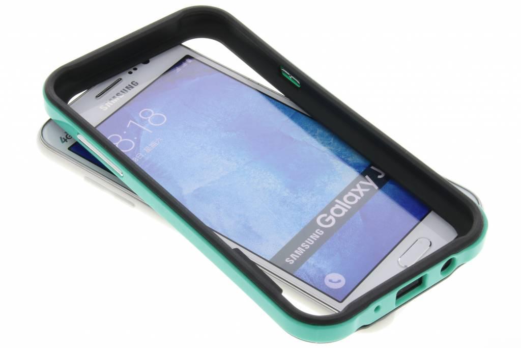 Groene bumper voor de Samsung Galaxy J5
